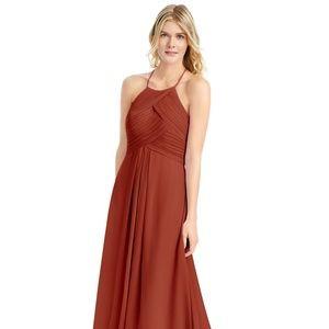 Rust bridesmaid dress - like new!